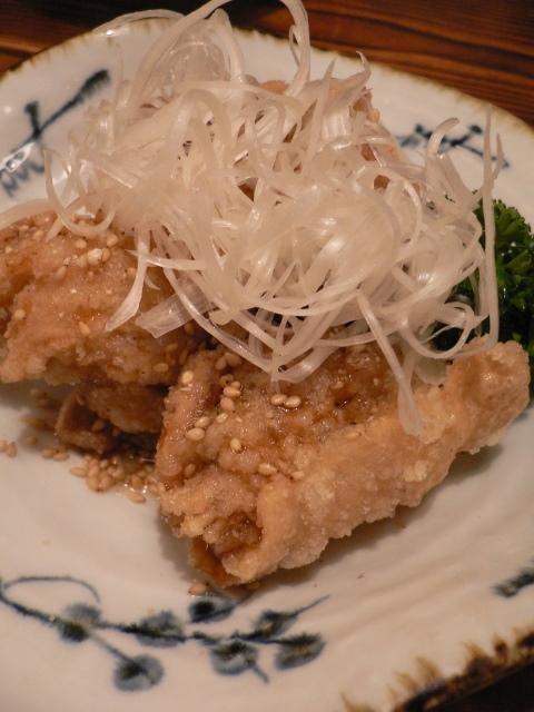 鶏唐揚げ中華風